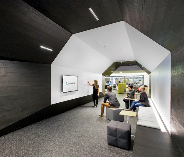 Interior Design Technology Remodelling: 7 Simply Amazing Tech Offices