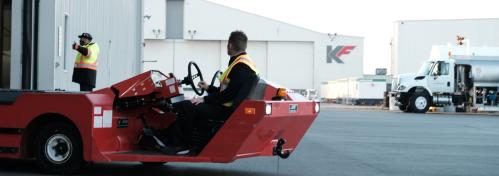 Cart on Jetport runway