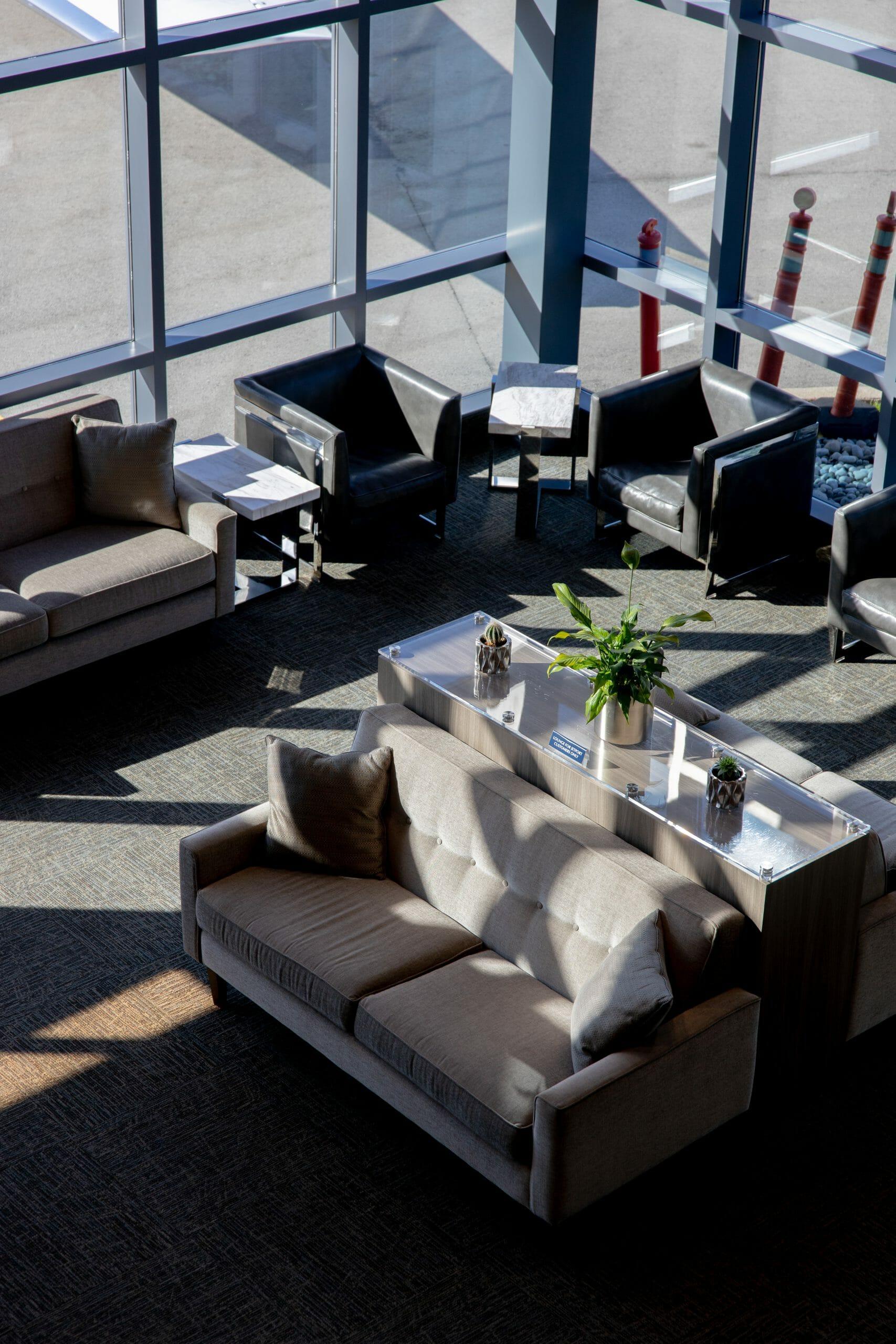 Inside the Jetport Lounge