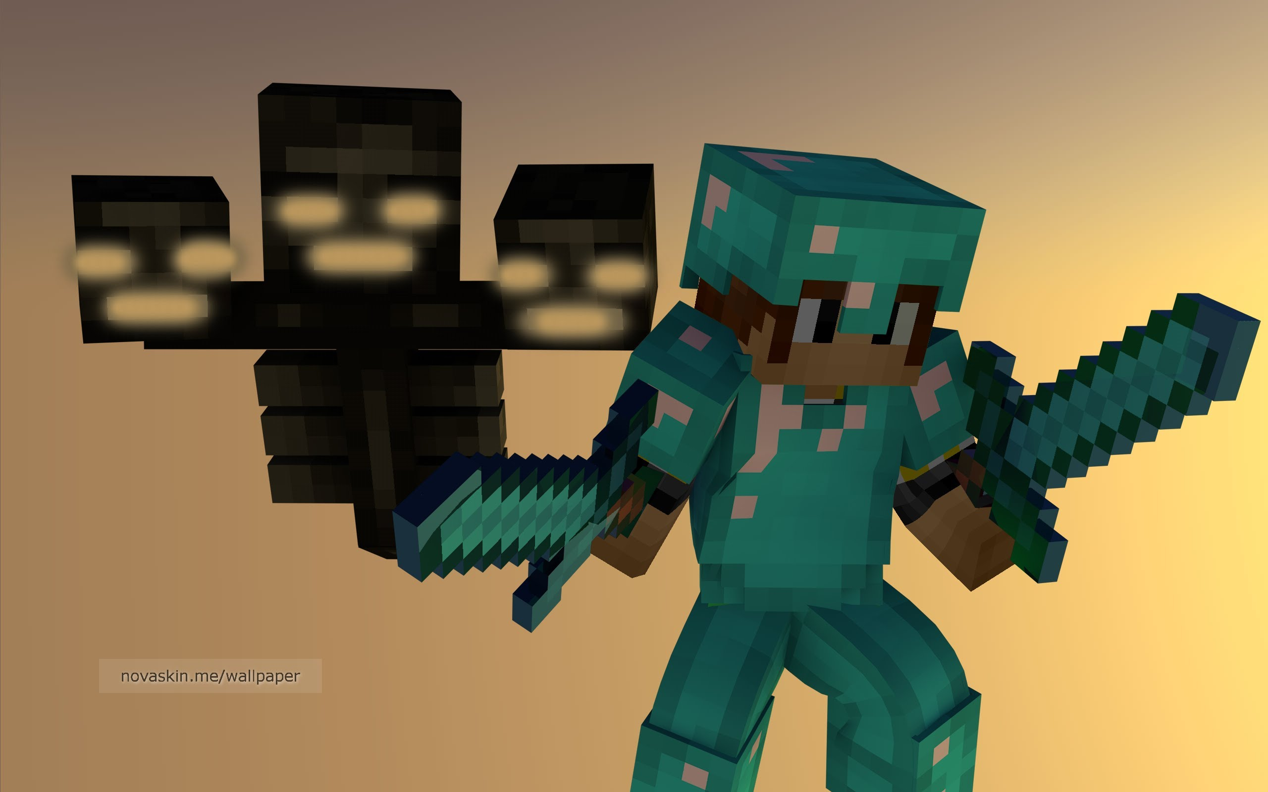 minecraft wallpaper creeper 3d