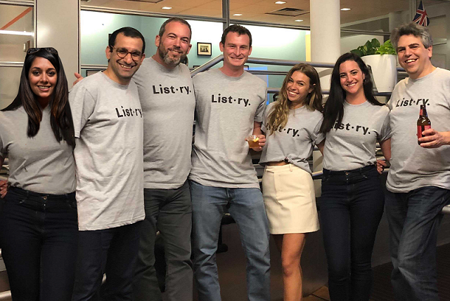 Listory Team — from the company