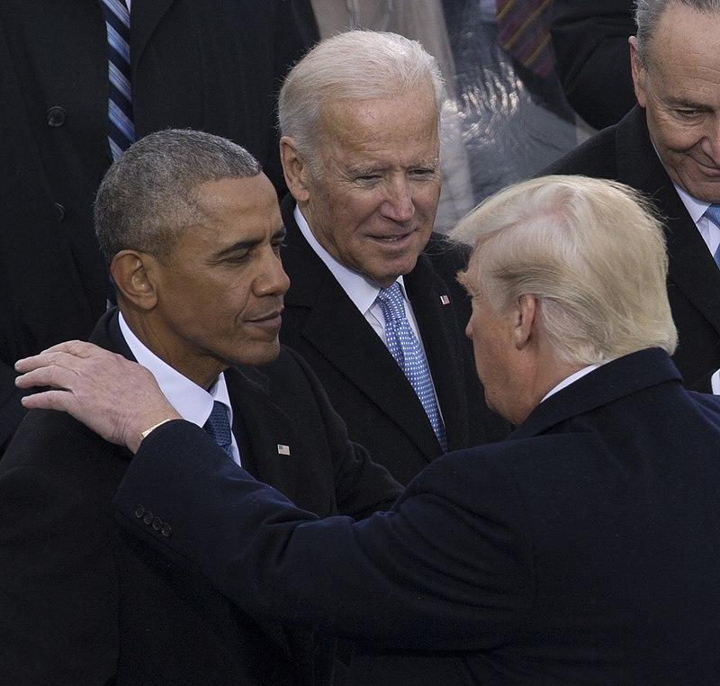 800px-Barack_Obama,_Donald_Trump,_Joe_Biden_at_Inauguration_01-20-17_(cropped) wikipedia