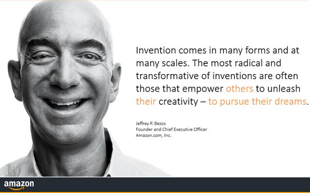 Jeff Bezos Amazon AWS Promo Pic