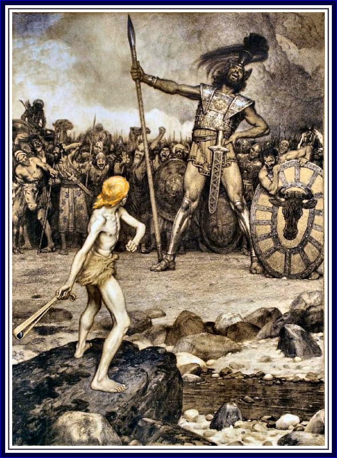 Osmar_Schindler_-_David_und_Goliath wikipedia