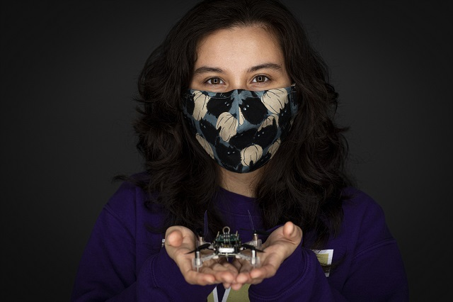 Melanie Anderson University of Washington Smellcopter