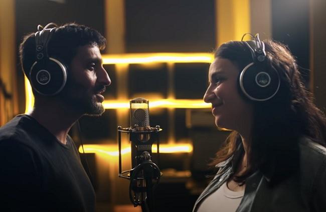Tzachi Halevi and Lucy Aharish Music Video Clip