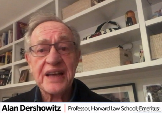 Allan Dershowitz on Newsmax