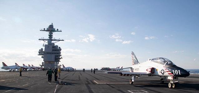 USS Gerald R. Ford Facebook