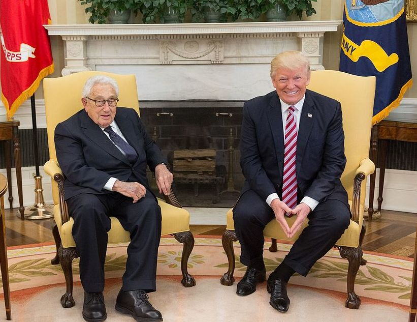 President Trump Meets with Henry Kissinger photo The White House (33787724293)