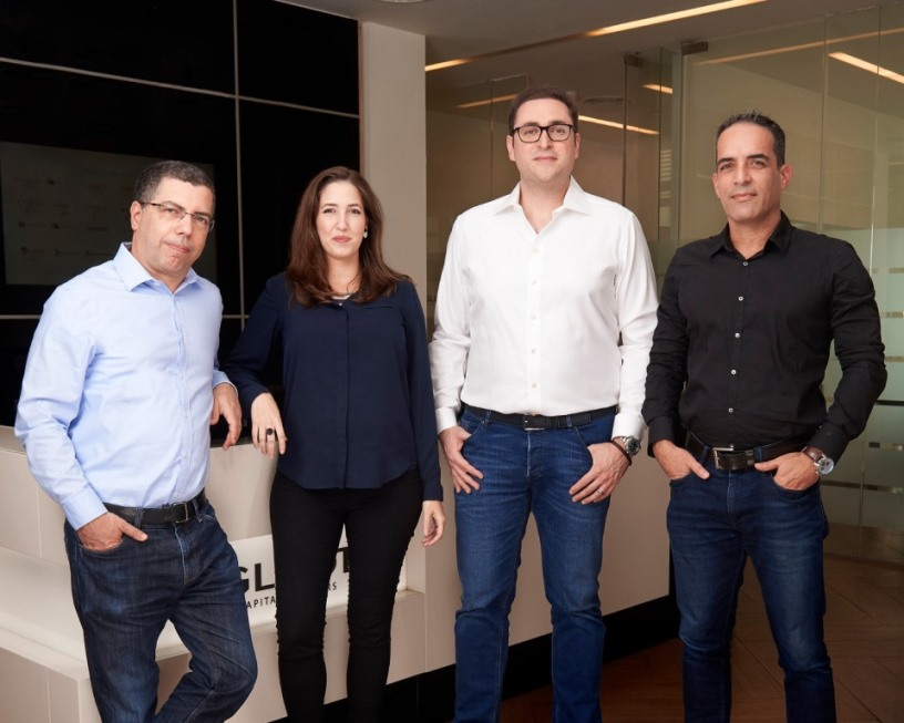 Glilot Partners Kobi Samboursky, Arik Kleinstein, Nofar Amikam and Lior Litwak photo credit Ben Yitzhaki