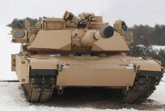 IAI The Wind Guard radar system US Abrams Tank