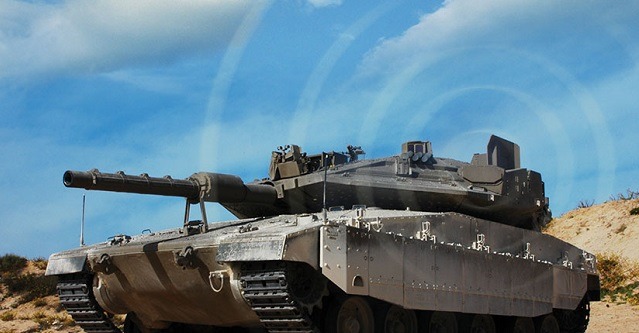 ELM-Mekava Tank IAI