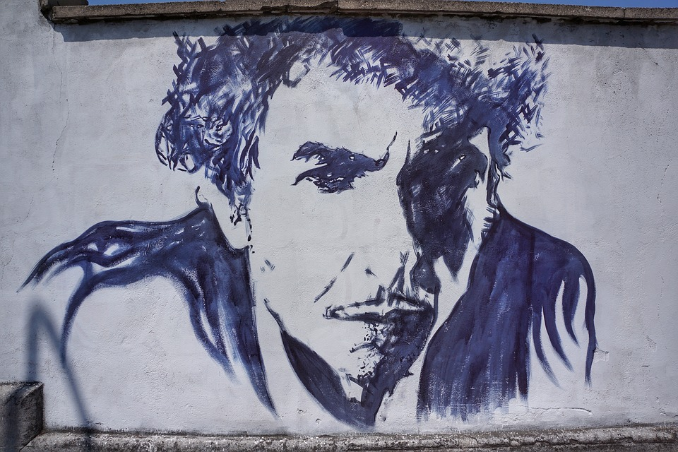Bob Dylan Street Art Graffiti Verona Italy Pixabay 2549292_960_720