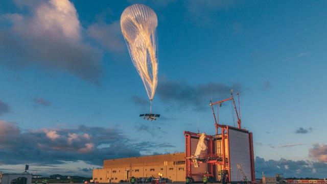 Google Loon Internet Balloon (from website) 2