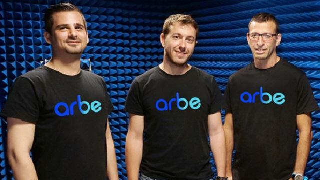 Arbe co-founders Oz Fixman, Noam Arkind, and Kobi Marenko.