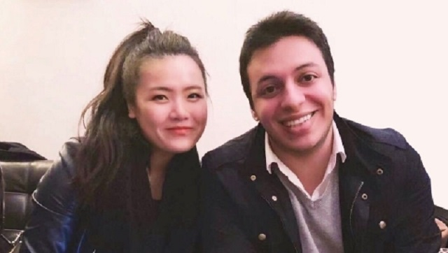 Deel co-founders Shuo Wang and Alex Bouaziz. Photo Business Wire