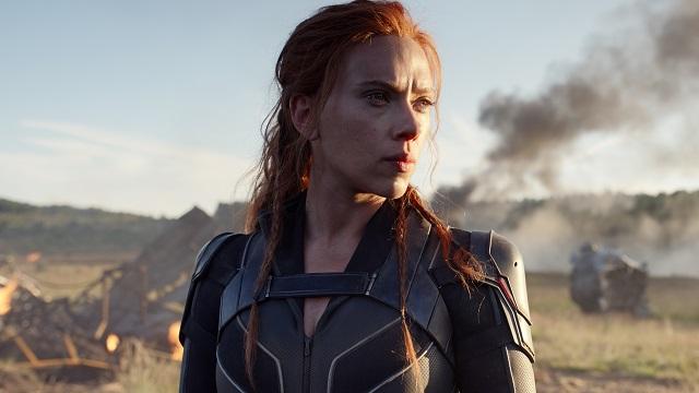 Scarlett Johansson Black Widow (screenshot)
