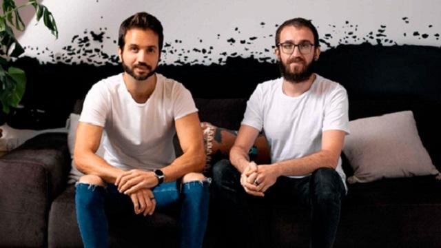 Walnut founders Yoav Vilner and Dani Friedland. — Walnut company pic