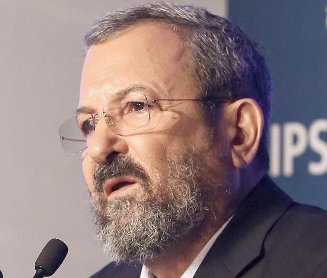 Ehud Barak 2016_-_Herzliya_Conference_2016_3015_(cropped) Wikipedia