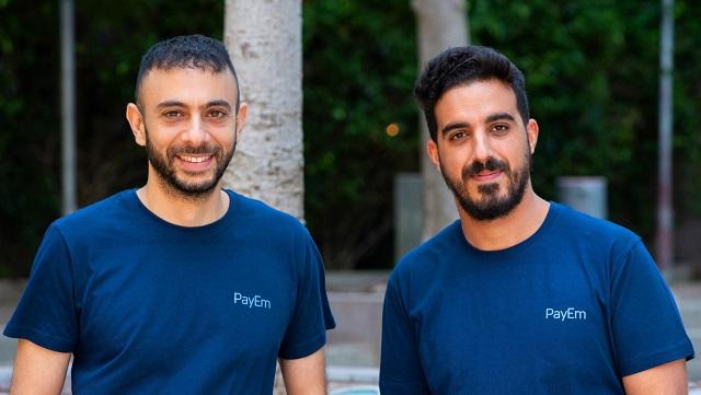 PayEm co-founders Itamar Joban, Omer Rimoch Credit Or Kaplan company pic