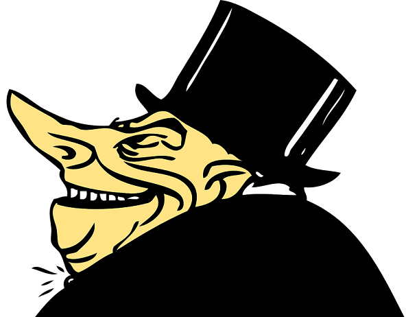 money rich Scrooge Stingy Greed Mean Selfish Banker -28854_960_720