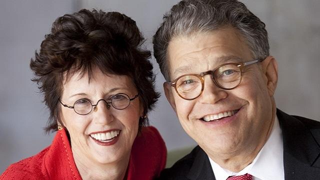 Al Franken and his wife