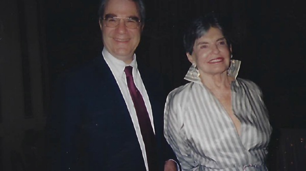 Sandor Frankel - A relaxed moment with Leona Helmsley