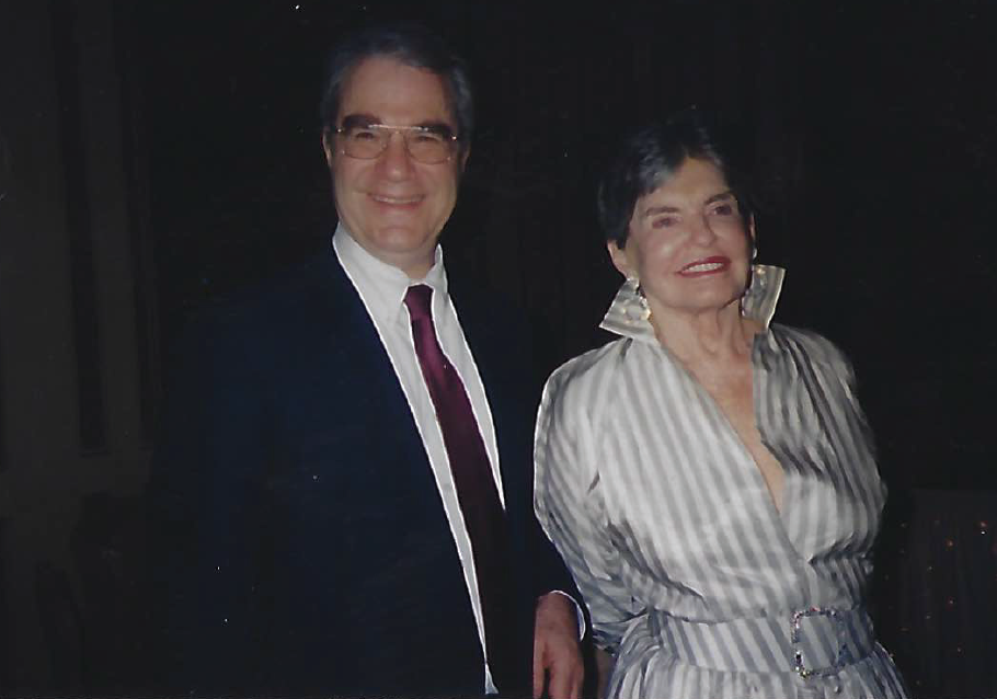 Sandor Frankel – A relaxed moment with Leona Helmsley