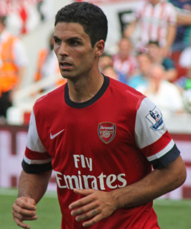 Mikel Arteta, Arsenal (cropped)
