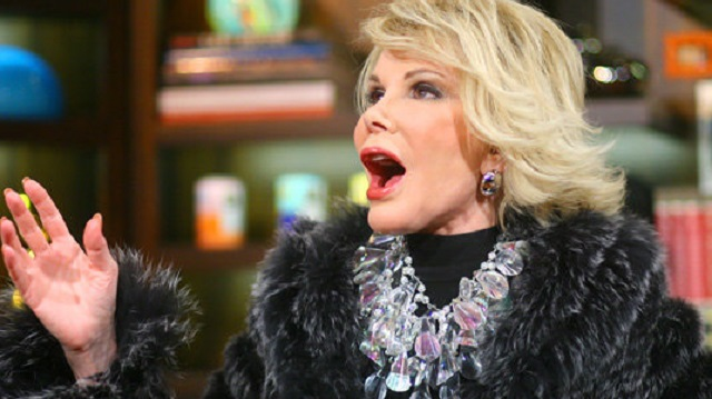 Joan Rivers from Watch What Happens Live