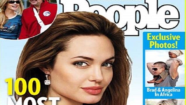 People Magazine Cover Angleina Jolie
