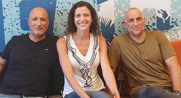 Beach Bum co-founders Gil Levy (right), Keren Marom and Shachar Schalka. Photo Beach Bum