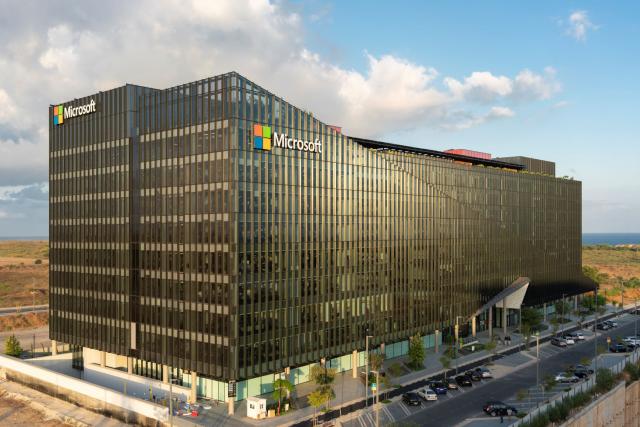 Microsoft New Campus Credit Amit Geron PR