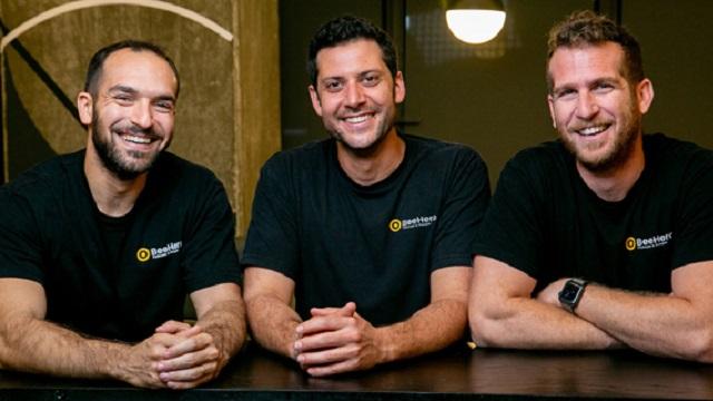 The BeeHero co-founders. Photo BeeHero