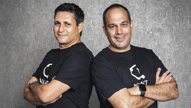 Aquant founders Shahar Chen and Assaf Melochna. Photo Aquant