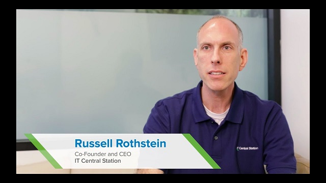 Russell Rothstein, Founder and CEO of IT Central Station