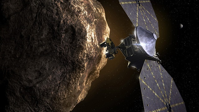 Courtesy NASA The Lucy Mission