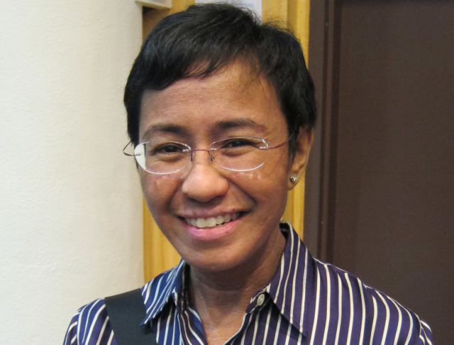 Journalist Maria Ressa from the Philippines was the only female Nobel laureate in 2021