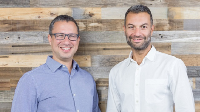 TripActions co-founders Ariel Cohen (left) and Ilan Twig. Photo Courtesy
