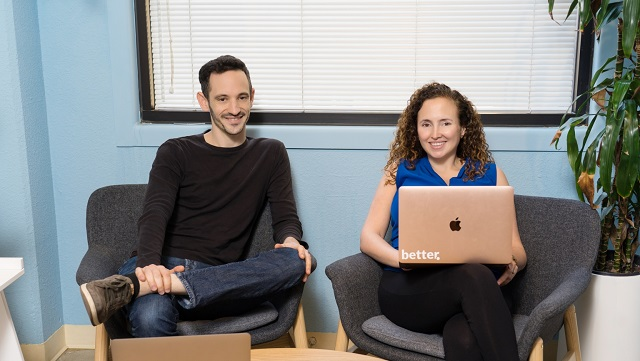 Better Health head of Product Adam Breckler, left, and CEO Naama Stauber Breckler, right. Image Credits Better Health