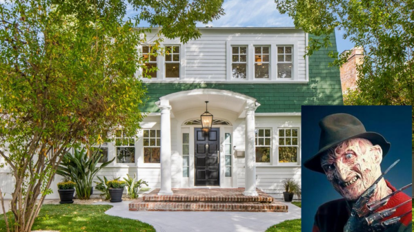 A Nightmare On Elm Street' House For Sale-source Douglas Elliman Freddy Krueger(Robert_Englund) wikipedia