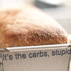 It's the Carbs, Stupid!!