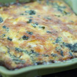 Crustless Italian Sausage Quiche