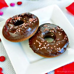 Chocolate Donuts . . . oh yes, I did!
