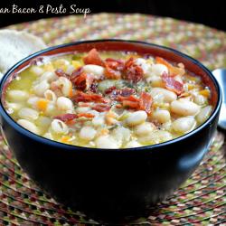 White Bean & Bacon Soup