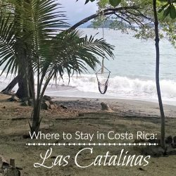 Costa Rica Travel: Las Catalinas