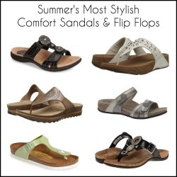 Summer's Cutest Comfort Sandals & Flip Flops