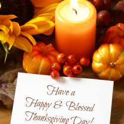 Happy Thanksgiving to You and Yours!!!
