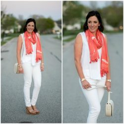 How to Style a Spring Scarf