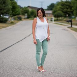 What to Wear with Mint Jeans